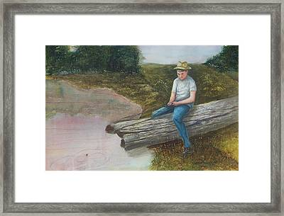 Grandpa's Secret Place Framed Print