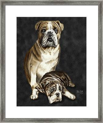 Grandson Of Sampson 2 Framed Print