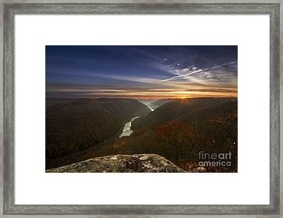 Grandview Sunrise Framed Print