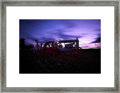Grandview Sunset Framed Print