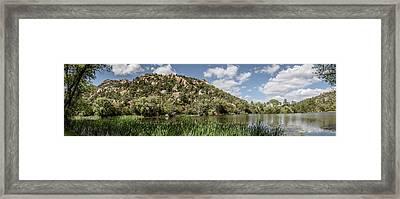 Granite Basin 4 Framed Print