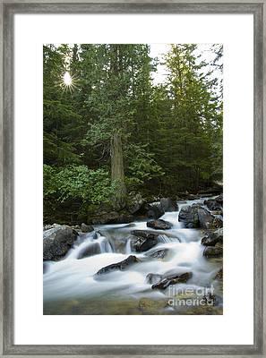 Granite Creek Framed Print
