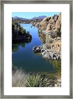 Granite Dells 2 Framed Print