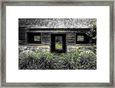 Granite House Framed Print