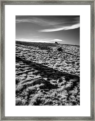 Framed Print featuring the photograph Granite Lakes Meadow by Alexander Kunz