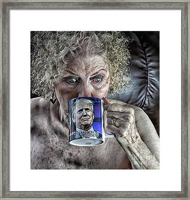 Grannies For Trump  Framed Print by Steven Digman