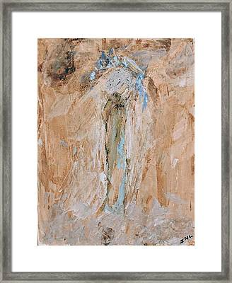 Granny Angel Framed Print