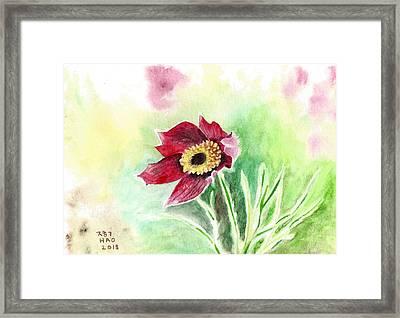 Granny Flower 2 Framed Print