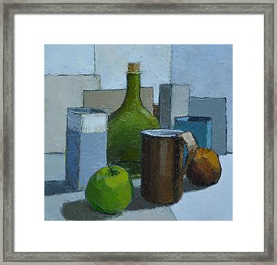 Granny Smith Framed Print by Jeremy Annett