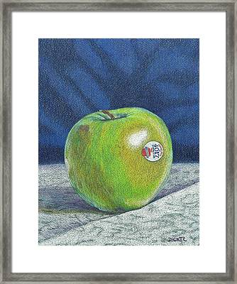 Granny Smith Framed Print