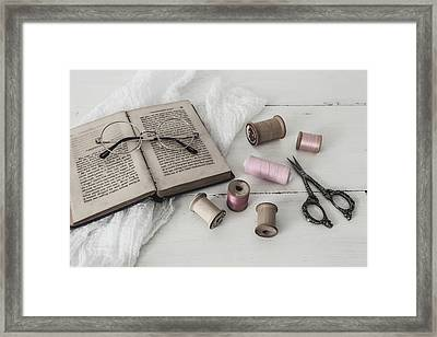 Framed Print featuring the photograph Grannys Treasures by Kim Hojnacki