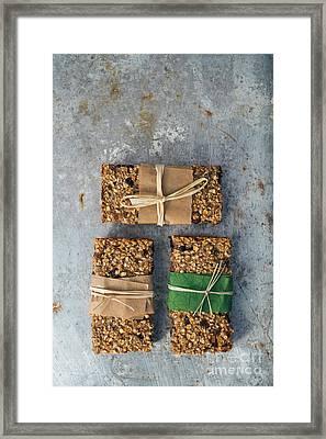 Granola Bars Framed Print