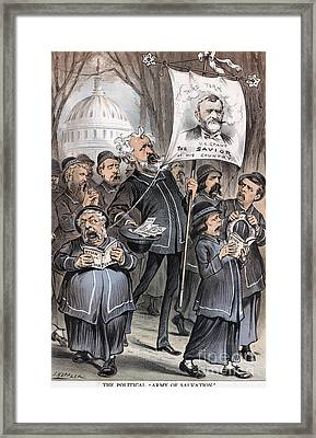 Grant Cartoon, 1880 Framed Print by Granger