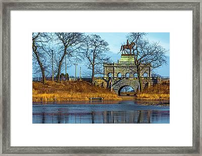 Grant Memorial Lincoln Park Dsc3218 Framed Print