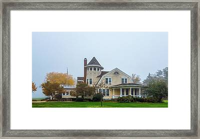 Grant Park Golf Course Clubhouse  Framed Print by Art Spectrum