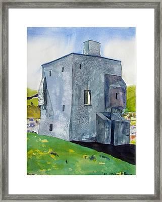 Granuaile's Castle Behind The Hill Framed Print