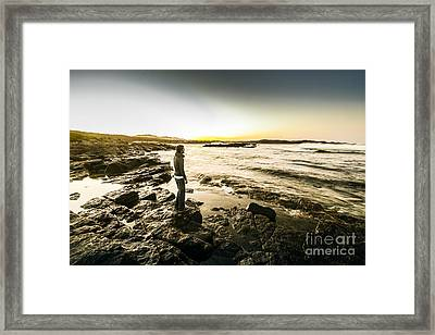 Granville Harbour Sunrise Framed Print by Jorgo Photography - Wall Art Gallery