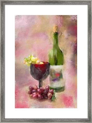 Grape Essence Framed Print by Mary Timman