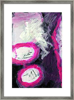 Grape Fizzies Framed Print by Shelley Graham Turner
