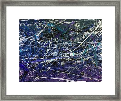 Grape Kneehigh Framed Print by Chel Bieze