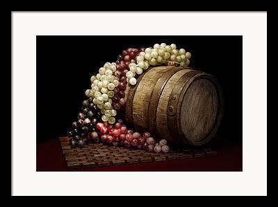 Still-life With Wine Framed Prints