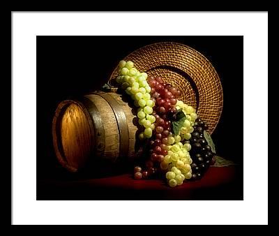 Winemaking Framed Prints