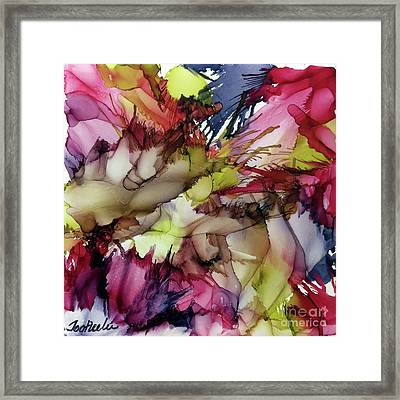 Colors Of Grapes Framed Print by Jo Ann Bossems