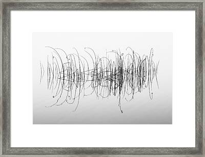 Graphic Framed Print by Benny Pettersson