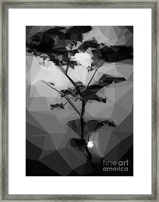 Graphical Landscape Framed Print by Varun Tandon