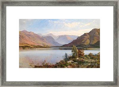 Grasmere Framed Print by Henry Moore