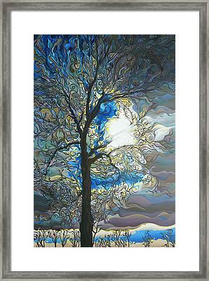 Grasping At Sunshine Framed Print