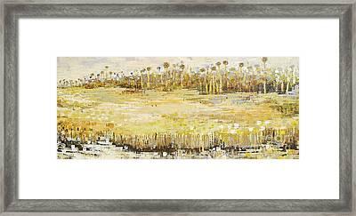 Grassland Strand Framed Print