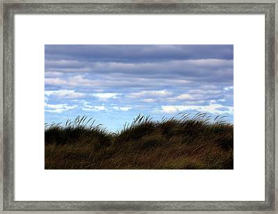 Framed Print featuring the photograph Grassy Ridge by Kenneth Campbell