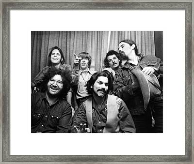 Grateful Dead 1970 London Framed Print by Chris Walter