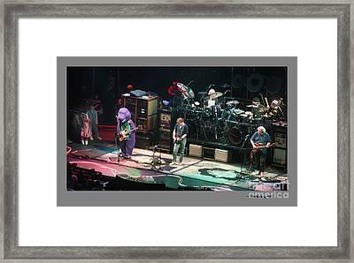 Grateful Dead Jammin With Barney Framed Print