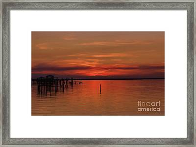 Grateful Sky Framed Print