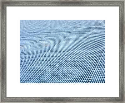 Grates II Framed Print by Anna Villarreal Garbis