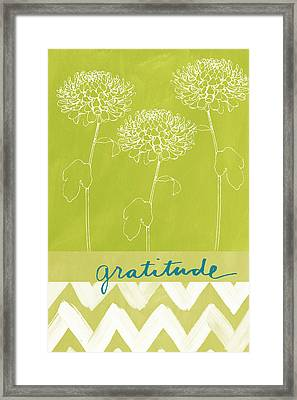 Gratitude Framed Print by Linda Woods