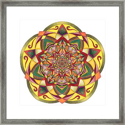 Gratitude Framed Print by Sarah A Greene