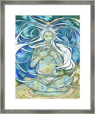 Gratitude Framed Print by Tamara Phillips