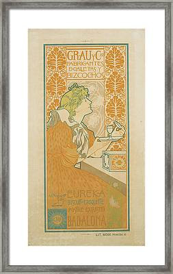 Grau Y Cia Manufacturers Cookies And Cakes Framed Print