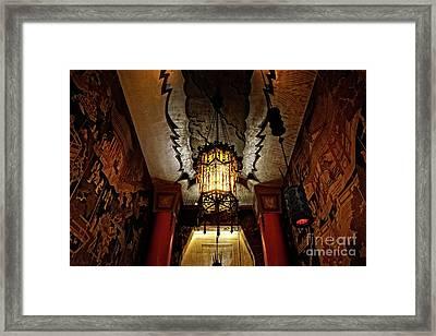 Grauman's Chinese Theatre Framed Print