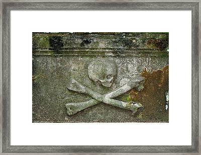Grave Business 2 Framed Print by Robert Joseph