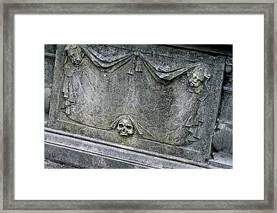 Grave Business Framed Print by Robert Joseph