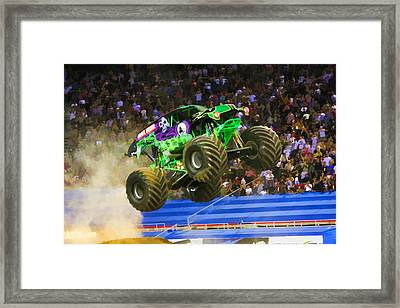 Grave Digger 7 Framed Print by Lanjee Chee