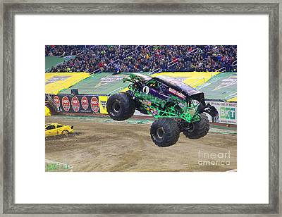 Grave Digger  Framed Print by Michael Rucker