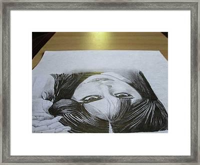 Grave Eyes Framed Print