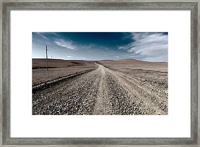 Gravel Dreams Framed Print