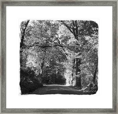 Graves Rd  Framed Print
