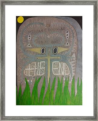 The End Framed Print by William Douglas